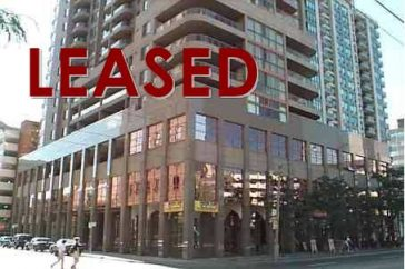 LEASED: For Lease: 736 Bay Street, Unit 707