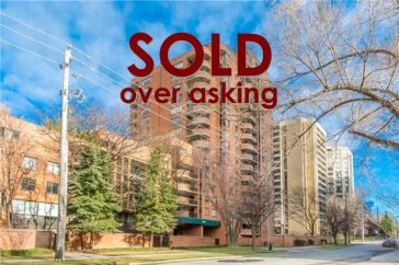 SOLD: 260 Heath Street West, Unit 1204‏