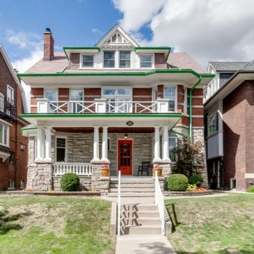 Bought: Roncesvalles Edwardian Mansion