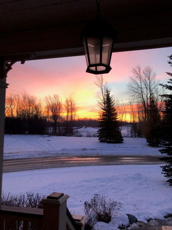 Sunrise at Blue Mountain, Collingwood