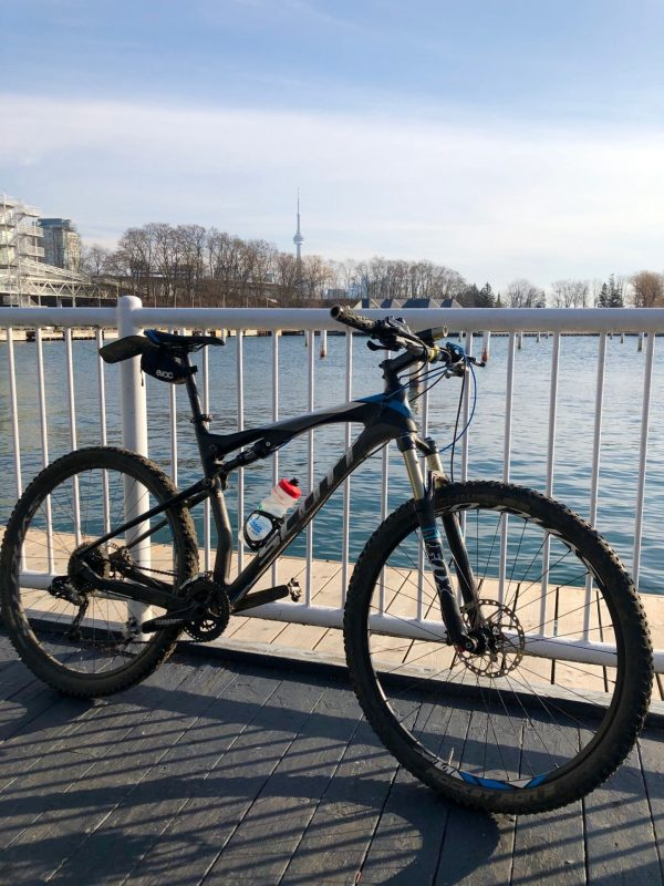 Early season bike Ontario Place