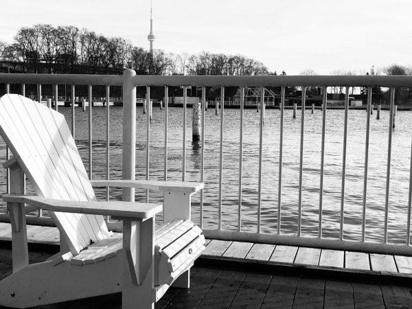 Ontario Place - waterfront muskoka chair